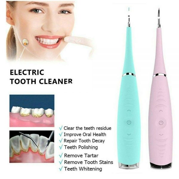Electric Ultrasonic Sonic Tooth Cleaner Teeth Stains Tartar Remover Whitening (2)