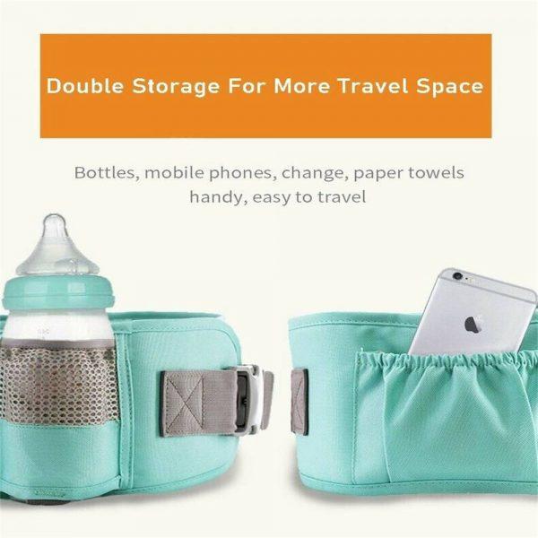 Ergonomic Baby Carrier Adjustable Backpack Infant Hip Seat Born Breathable (11)