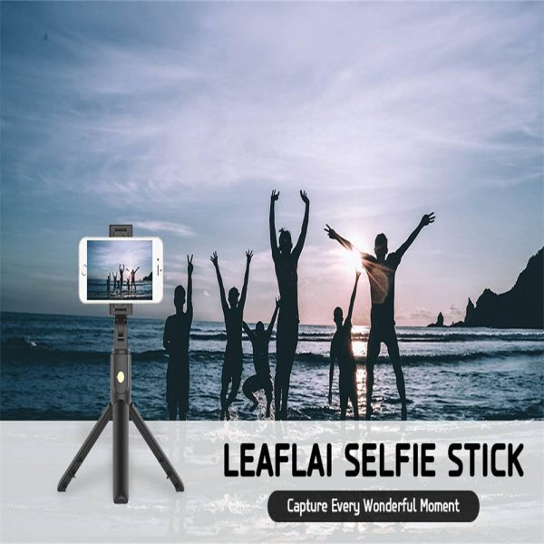 Extendable Selfie Stick Tripod For Any Cell Bluetooth Remote Free Shipping Uk (12)