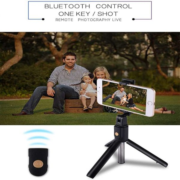 Extendable Selfie Stick Tripod For Any Cell Bluetooth Remote Free Shipping Uk (6)