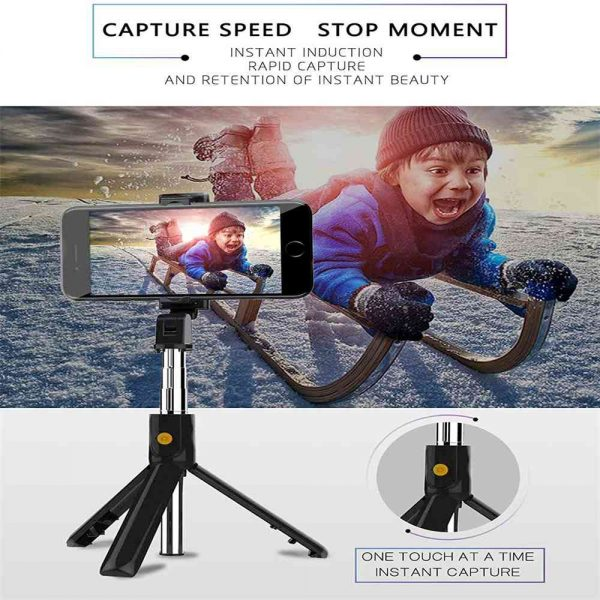 Extendable Selfie Stick Tripod For Any Cell Bluetooth Remote Free Shipping Uk (8)