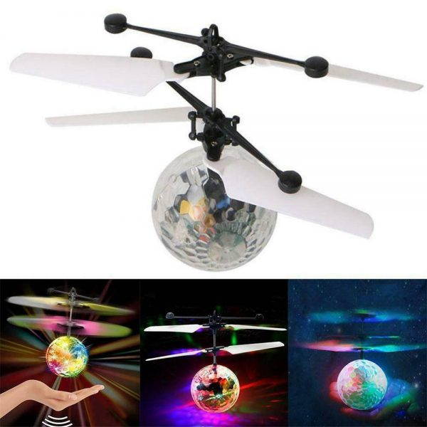Flying Ball Helicopter Drone Toy With Flashing Led Lights For Boys Girls Gift (2)