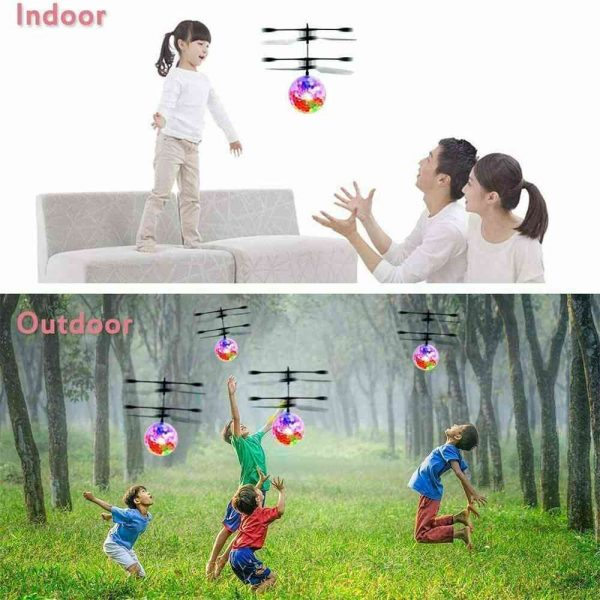 Flying Ball Helicopter Drone Toy With Flashing Led Lights For Boys Girls Gift (4)