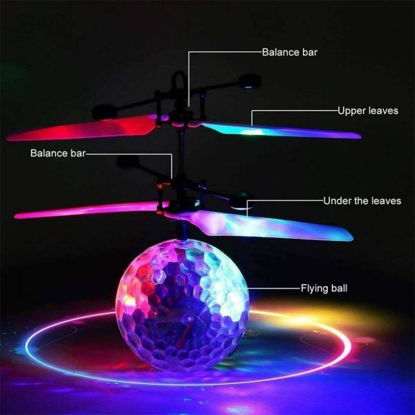 Flying Ball Helicopter Drone Toy With Flashing Led Lights For Boys Girls Gift (6)
