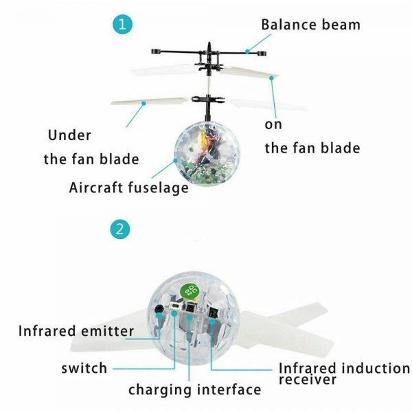 Flying Ball Helicopter Drone Toy With Flashing Led Lights For Boys Girls Gift (9)