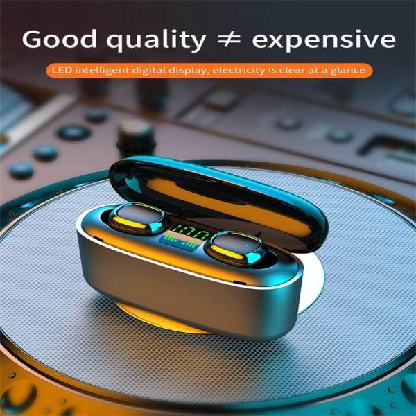 G5s New Headset Wireless Bluetooth Call In Ear Digital Display Black Technology Wireless Headset (1)