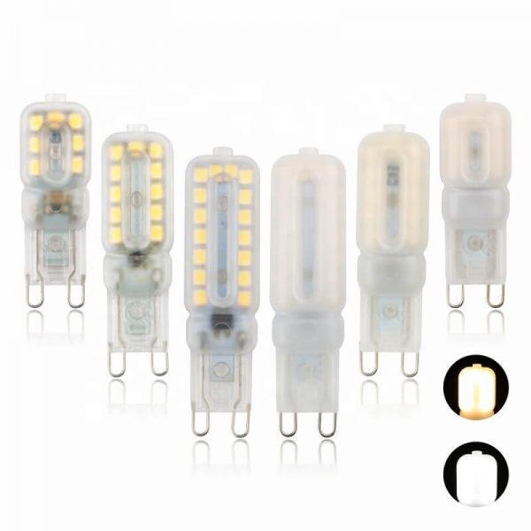 G9 Corn Light Cold White Light 3w 5w Mini Led Halogen Bulb Milky Transparent (3)