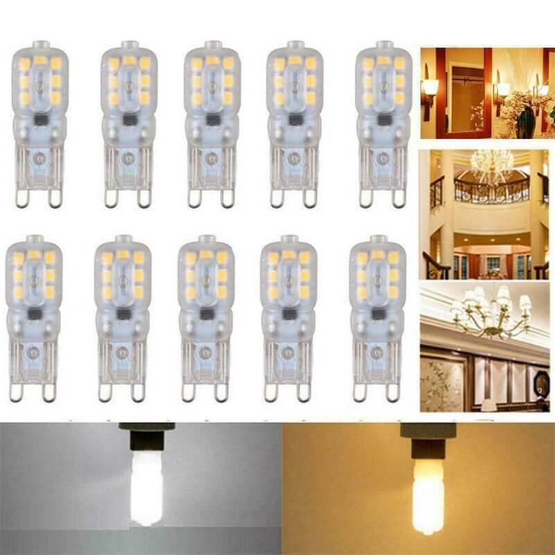 G9 Corn Light Cold White Light 3w 5w Mini Led Halogen Bulb Milky Transparent (4)