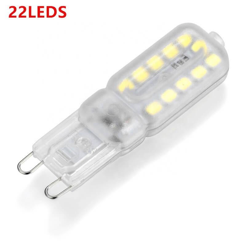G9 Corn Light Cold White Light 3w 5w Mini Led Halogen Bulb Milky Transparent (5)