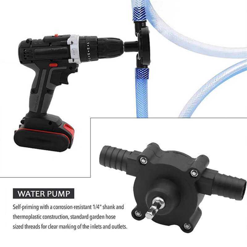 Hand Electric Drill Drive Pump Centrifugal Water Pump Household Small Pumps (1)