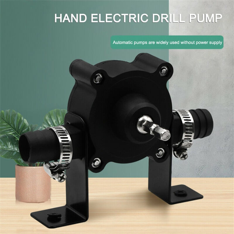 Hand Electric Drill Drive Pump Centrifugal Water Pump Household Small Pumps (2)