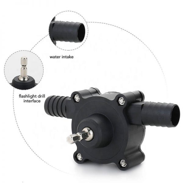 Hand Electric Drill Drive Pump Centrifugal Water Pump Household Small Pumps (8)