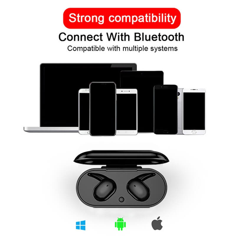 Headphone True Stereo Earphones Intelligent Earphones Hot Selling Waterproof Earphone (2)