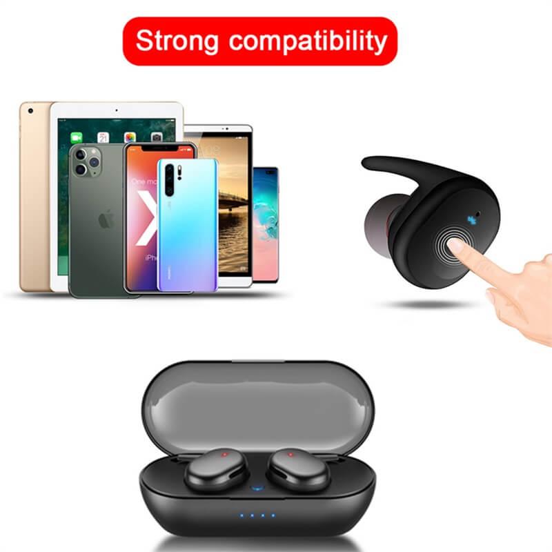 Headphone True Stereo Earphones Intelligent Earphones Hot Selling Waterproof Earphone (3)