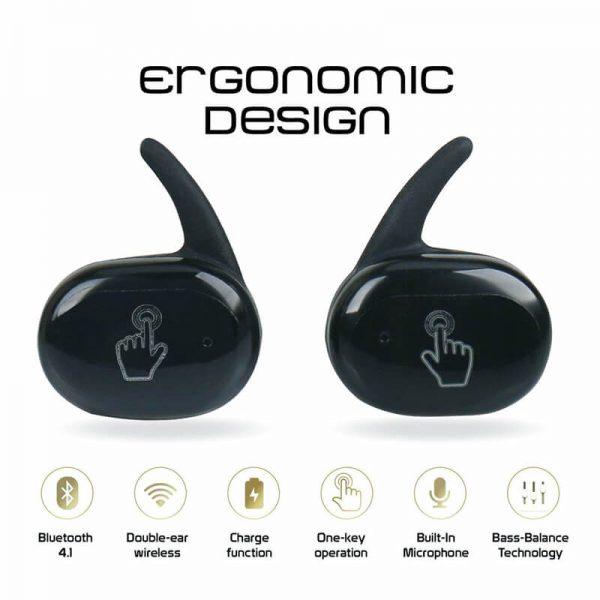 Headphone True Stereo Earphones Intelligent Earphones Hot Selling Waterproof Earphone (4)