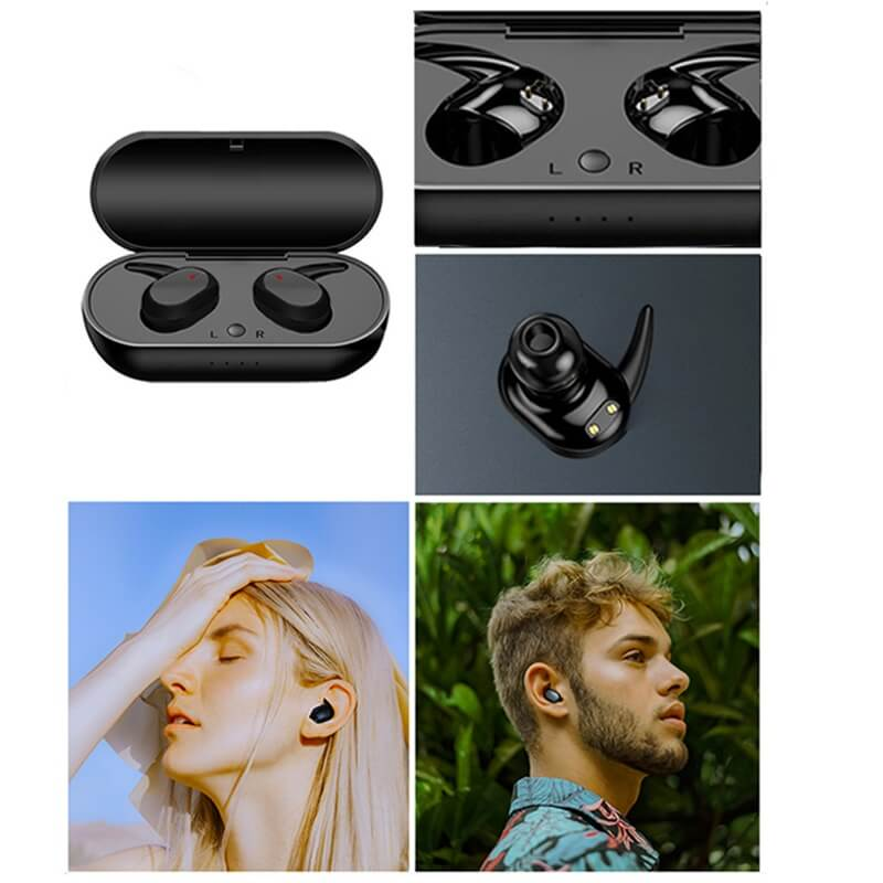 Headphone True Stereo Earphones Intelligent Earphones Hot Selling Waterproof Earphone (7)