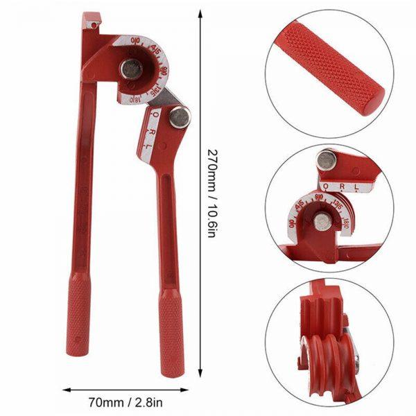 Heavy Duty Mini Pipe Bender 3 In 1 Copper Tube Bending Tool Brake Fuel Pipe (1)