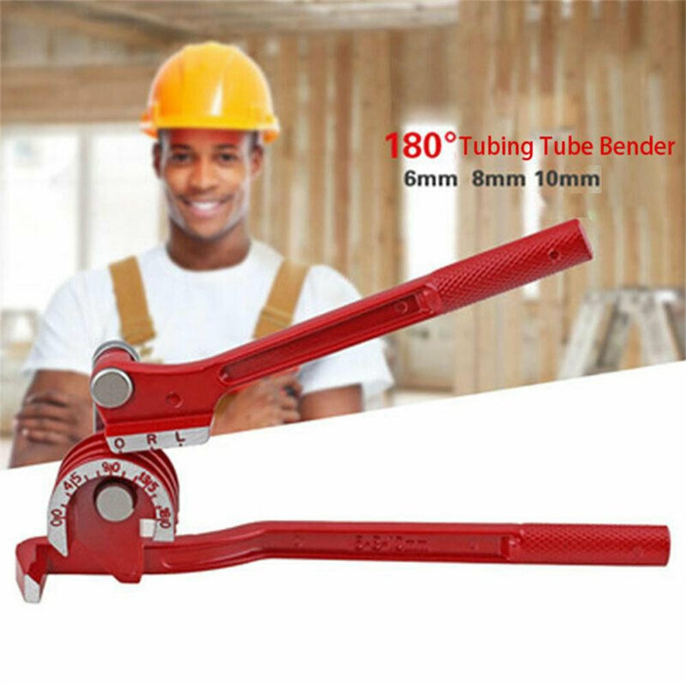Heavy Duty Mini Pipe Bender 3 In 1 Copper Tube Bending Tool Brake Fuel Pipe (2)