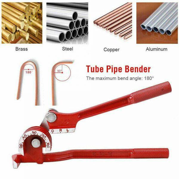 Heavy Duty Mini Pipe Bender 3 In 1 Copper Tube Bending Tool Brake Fuel Pipe (4)