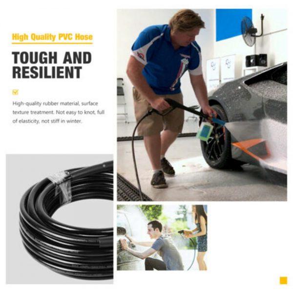High Pressure 15m Karcher Washer Extension Hose Water Clean Pipe K2 K3 K4 K5 K7 (2)