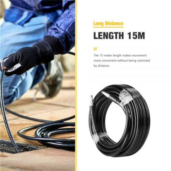 High Pressure 15m Karcher Washer Extension Hose Water Clean Pipe K2 K3 K4 K5 K7 (3)
