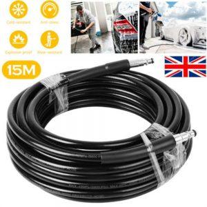 High Pressure 15m Karcher Washer Extension Hose Water Clean Pipe K2 K3 K4 K5 K7 (6)