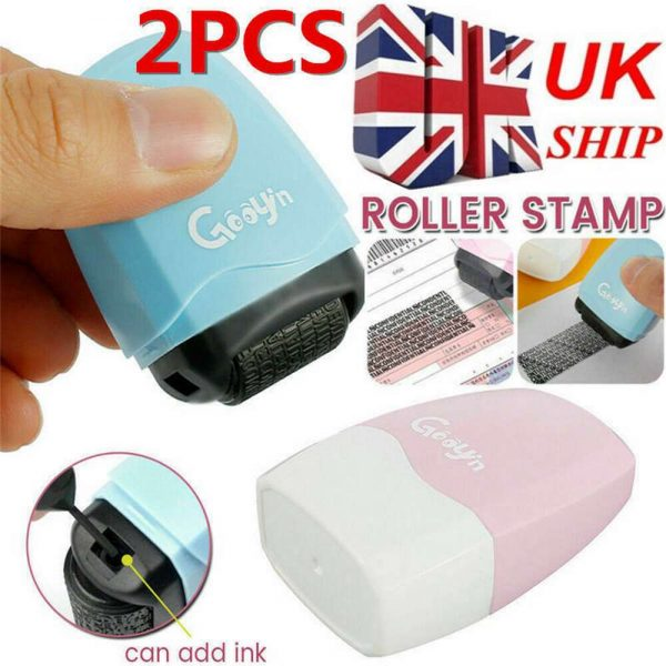 Identity Theft Protection Roller Stamp Privacy Confidential Data Guard Your Id (2)
