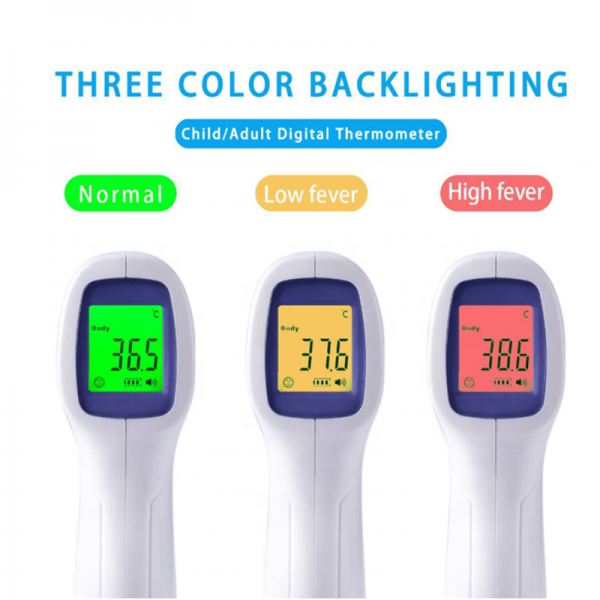 Infrared Temperature Sensor Gun Infrared Body Thermometer Digital Forehead Thermometer (1)
