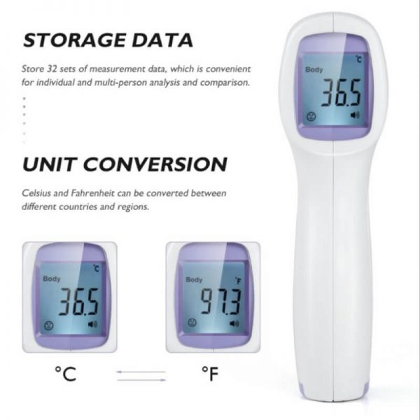 Infrared Thermometer Non Contact Professional Digital Laser Temperature For Adult And Baby (3)