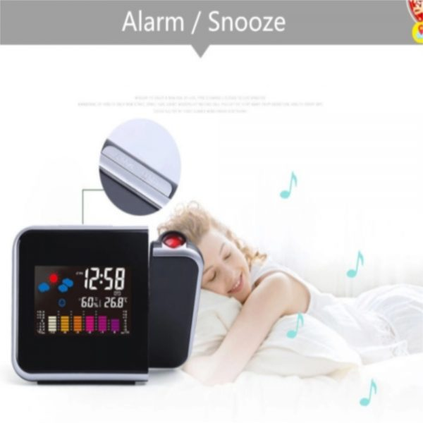 Led Digital Projection Alarm Clock Weather Thermometer Calendar Backlight Snooze (4)