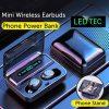 Led Display Earphones 8d Stereo Surround Waterproof Headphones Tws 5.0 Earbuds (1)