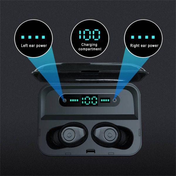 Led Display Earphones 8d Stereo Surround Waterproof Headphones Tws 5.0 Earbuds (3)