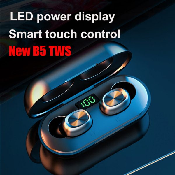 Led Display Waterproof Tws Wireless Earbuds Noise Cancellation Ipx5 Hi Fi Stereo Sound Headphones (2)