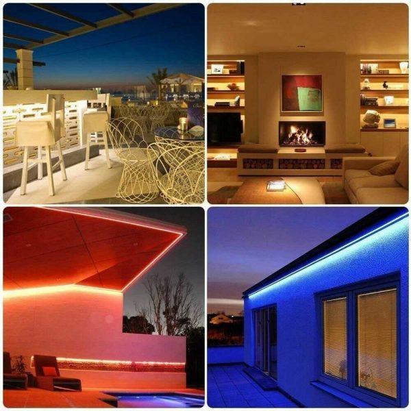 Led Strip Lights 5050 Rgb Colour Changing Tape Under Cabinet Kitchen Tv Usb (8)