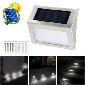 Led Solar Power Light Pir Motion Sensor Security Outdoor Garden Wall Lamp Uk (1)