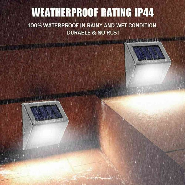 Led Solar Power Light Pir Motion Sensor Security Outdoor Garden Wall Lamp Uk (10)