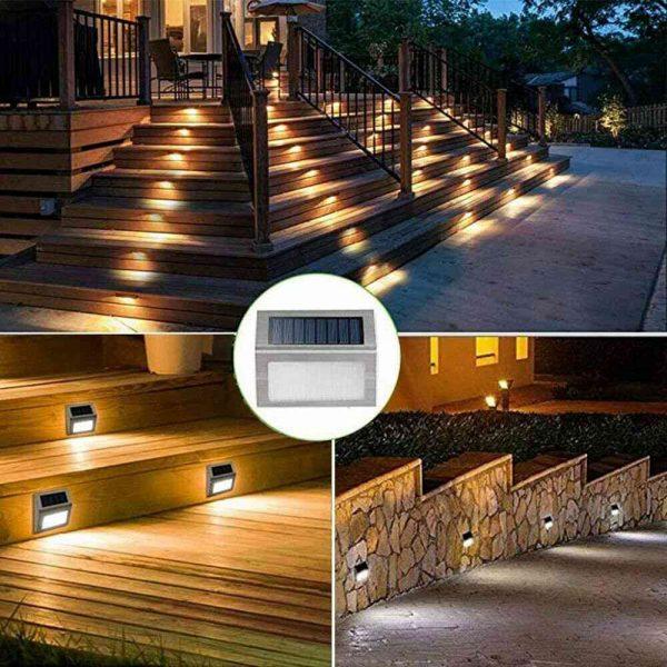 Led Solar Power Light Pir Motion Sensor Security Outdoor Garden Wall Lamp Uk (11)