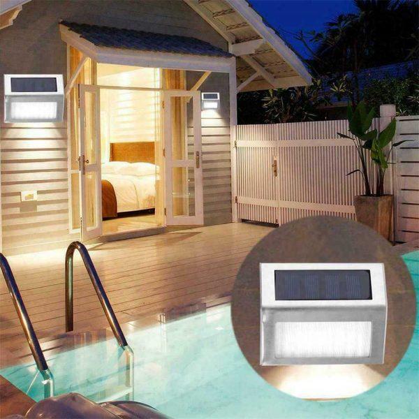 Led Solar Power Light Pir Motion Sensor Security Outdoor Garden Wall Lamp Uk (12)