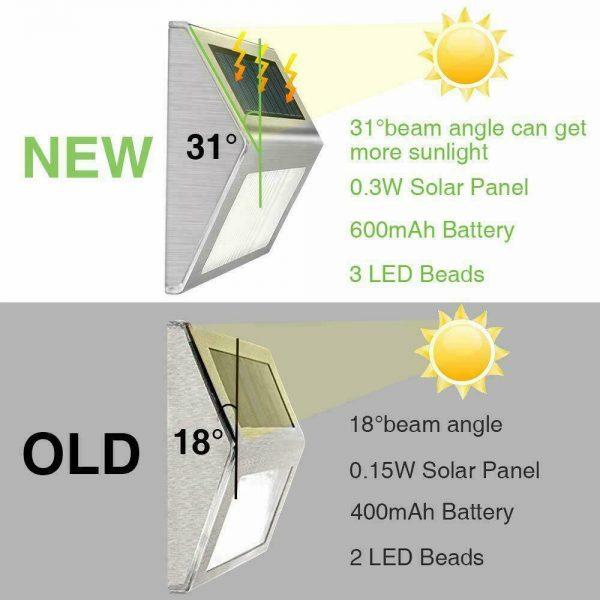 Led Solar Power Light Pir Motion Sensor Security Outdoor Garden Wall Lamp Uk (13)