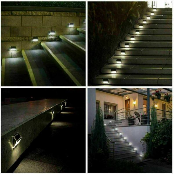 Led Solar Power Light Pir Motion Sensor Security Outdoor Garden Wall Lamp Uk (5)