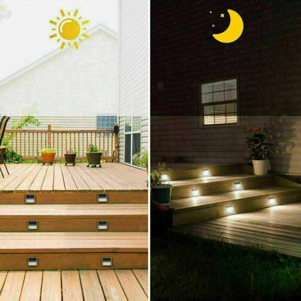 Led Solar Power Light Pir Motion Sensor Security Outdoor Garden Wall Lamp Uk (6)