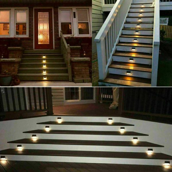 Led Solar Power Light Pir Motion Sensor Security Outdoor Garden Wall Lamp Uk (9)