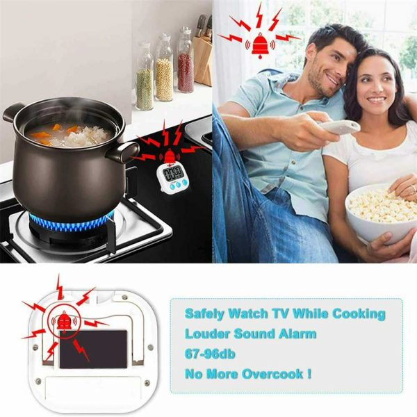 Large Lcd Digital Kitchen Egg Cooking Timer Count Down Clock Alarm Stopwatch Uk (9)