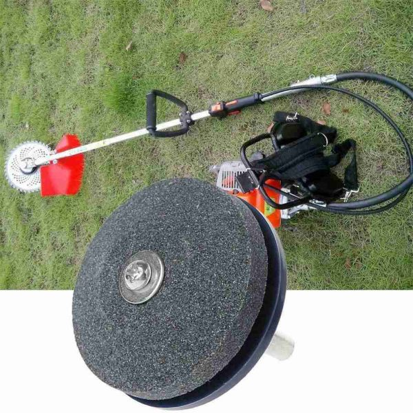 Lawnmower Blade Sharpener Garden Tools Grinder Fits Any Power Drill Hand Drill (10)