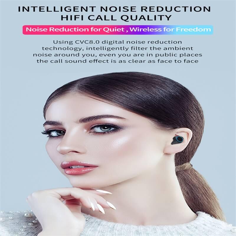 M11 Wireless Blutooth 5.0 Earphones Earbuds Wireless Gaming Headset Waterproof Earphone (8)