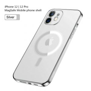 Magnetic Clear Phone Case Mag Safe Cover For Apple Iphone 12 & Iphone 12 Pro (10)