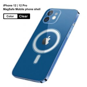 Magnetic Clear Phone Case Mag Safe Cover For Apple Iphone 12 & Iphone 12 Pro (11)