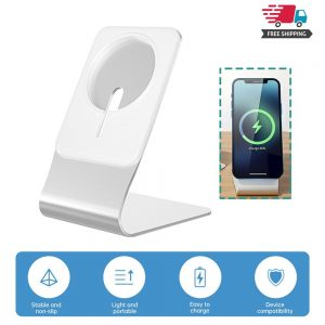 Magnetic Wireless Charging Stand Desktop With Mag Safe For Iphone 12 Pro Max (1)