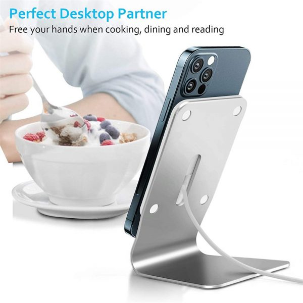 Magnetic Wireless Charging Stand Desktop With Mag Safe For Iphone 12 Pro Max (11)