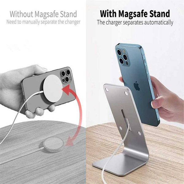 Magnetic Wireless Charging Stand Desktop With Mag Safe For Iphone 12 Pro Max (15)